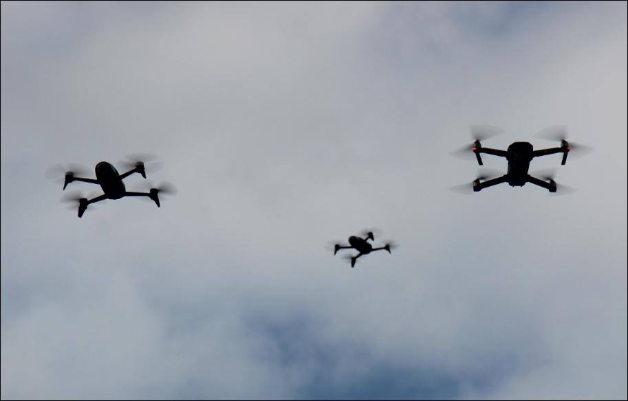 Balais de drones